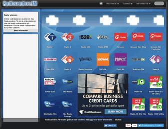 radiozenders.fm screenshot