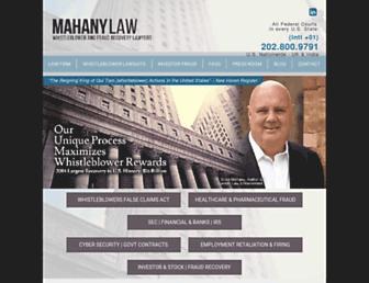 mahanyertl.com screenshot