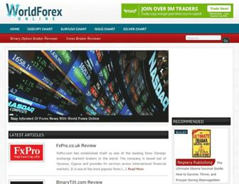 Thumbshot of Worldforexonline.com