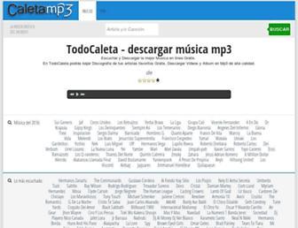 caletamp3.com screenshot