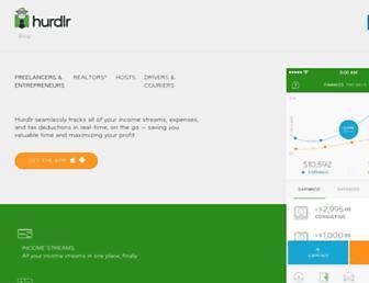 hurdlr.com screenshot