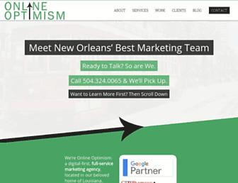 onlineoptimism.com screenshot