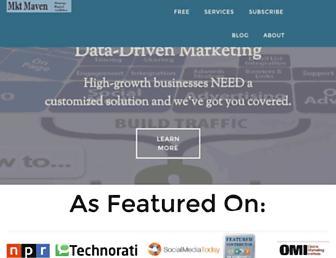 hausmanmarketingletter.com screenshot
