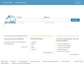 ro.jooble.org screenshot