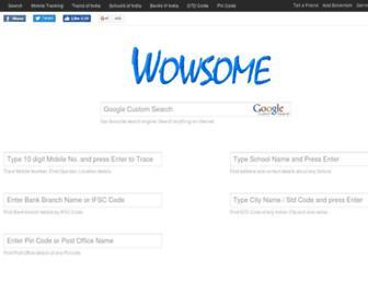 Thumbshot of Wowsome.com