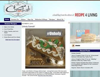 Thumbshot of Chewonthatblog.com