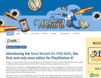 savewizard.net screenshot