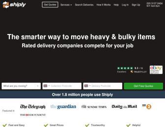 shiply.com screenshot