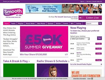 smoothradio.com screenshot