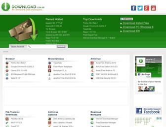 download.com.np screenshot