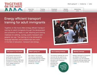 together-eu.org screenshot