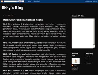 ekki-saputra.blogspot.com screenshot