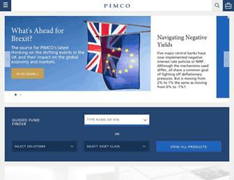 pimco.co.uk screenshot