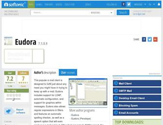 eudora.en.softonic.com screenshot