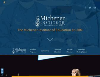 michener.ca screenshot