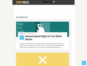 jqueryhouse.com screenshot