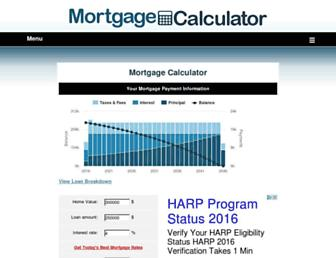 mortgagecalculator.org screenshot