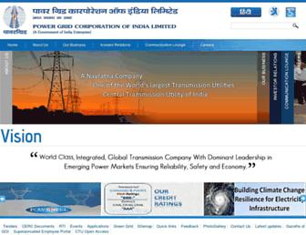 Thumbshot of Powergridindia.com