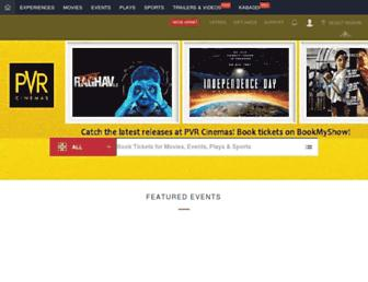 in.bookmyshow.com screenshot