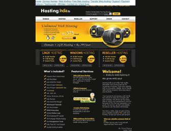 Main page screenshot of india.to