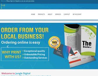 jungledigital.com screenshot