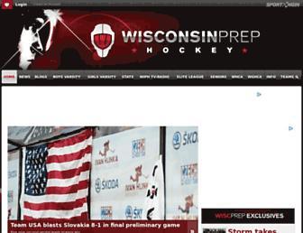 Thumbshot of Wisconsinprephockey.net