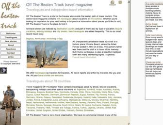 off-the-beaten-track.net screenshot