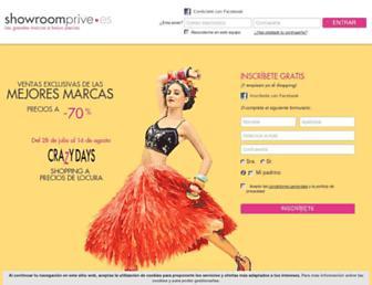 Thumbshot of Showroomprive.es