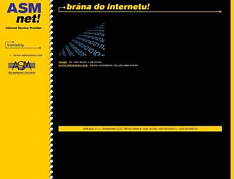 ftp.asm.cz screenshot