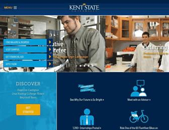 kent.edu screenshot