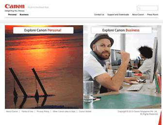 Thumbshot of Canon-asia.com