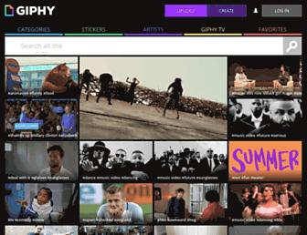 Thumbshot of Giphy.com