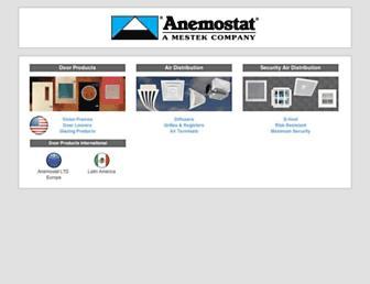 anemostat.com screenshot