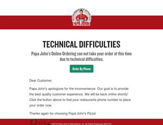 Thumbshot of Papajohns.com