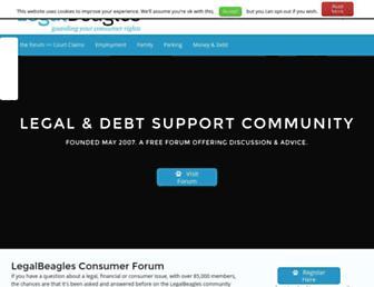 Thumbshot of Legalbeagles.info
