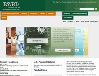 crbard.com screenshot