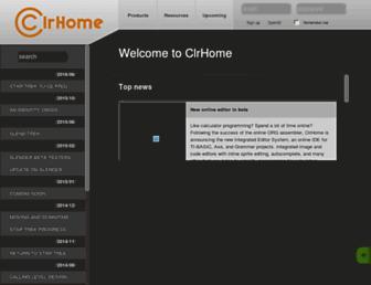 clrhome.org screenshot