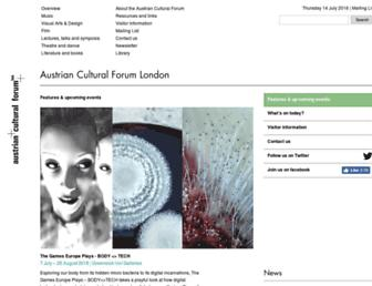 acflondon.org screenshot