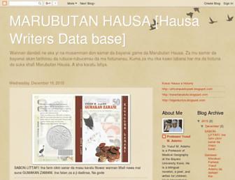 List of hausa novel complete blogspot websites - hausacc