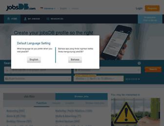 id.jobsdb.com screenshot