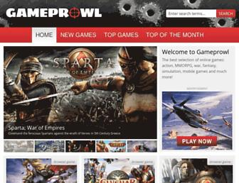 Thumbshot of Gameprowl.com