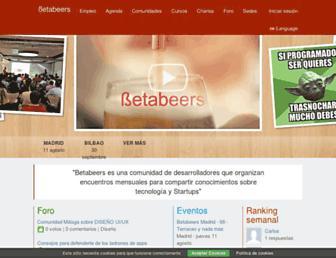 betabeers.com screenshot