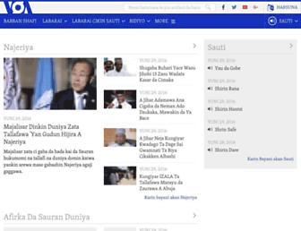voahausa.com screenshot