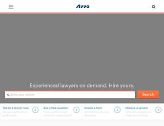 Thumbshot of Avvo.com