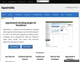 Thumbshot of Appointzilla.com