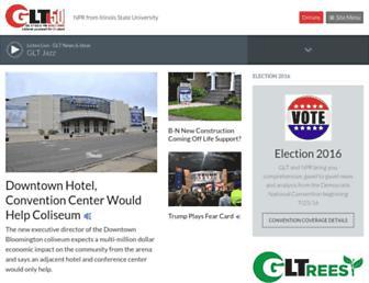 wglt.org screenshot