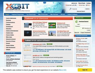 x64bitdownload.com screenshot