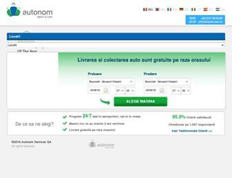 autonom.com screenshot