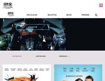 videocine.com.mx screenshot