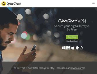 Thumbshot of Cyberghostvpn.com